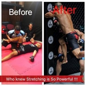 MMA Physiotherapy before & after